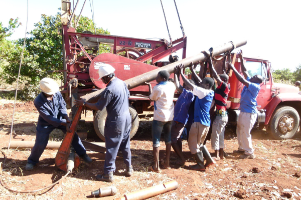 building deep capped well