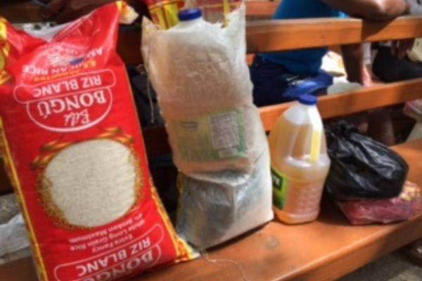 food aid for Haiti